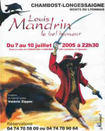 Spectacle Louis Mandrin le bel humeur